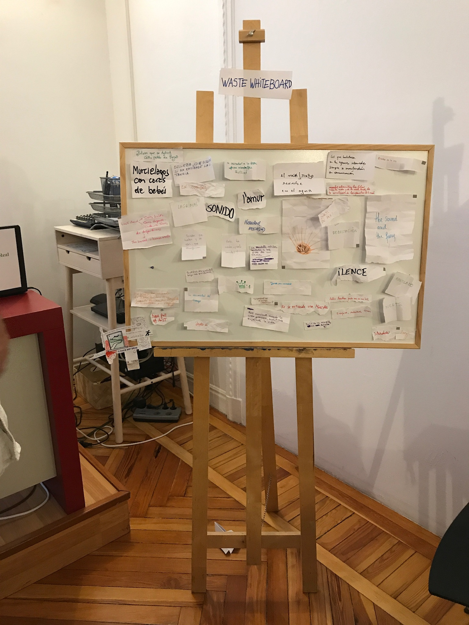 The Waste Whiteboard